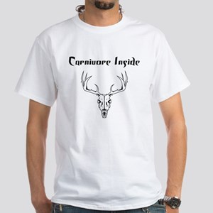 Carnivore Inside White T-Shirt