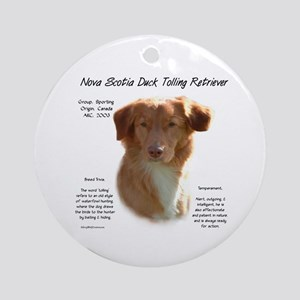 Toller Round Ornament