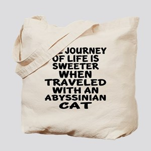 Traveled With abyssinian Cat Tote Bag