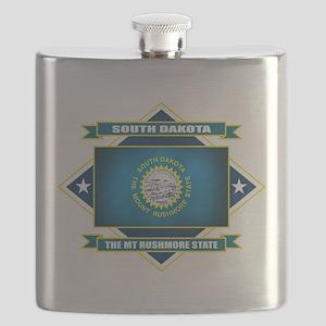 South Dakota diamond Flask