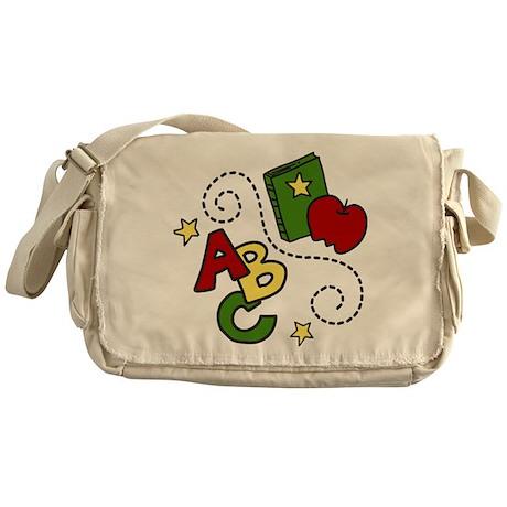 School Time Messenger Bag