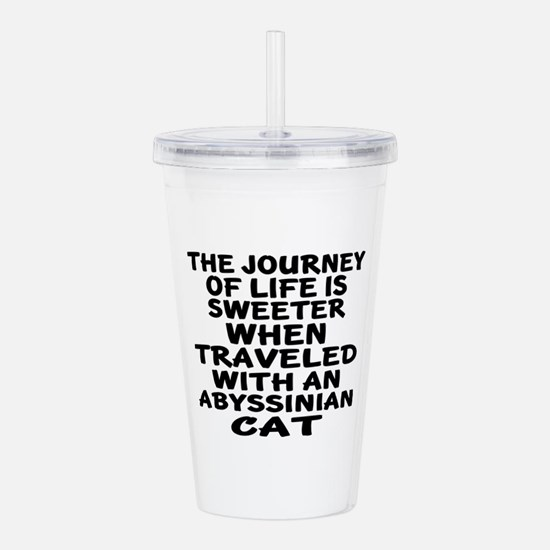 Traveled With abyssini Acrylic Double-wall Tumbler