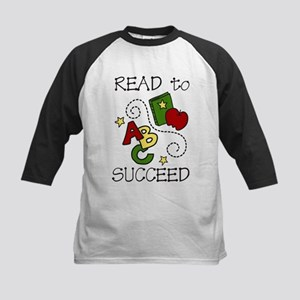 Read To Succeed Kids Baseball Jersey