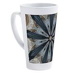 Gilded Bobsledding Flies 17 oz Latte Mug