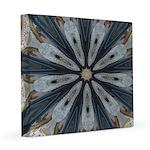 Gilded Bobsledding Flies 8x8 Canvas Print