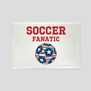 Soccer Fanatic Rectangle Magnet