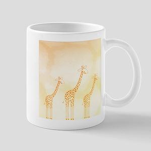 Giraffe Trio Mug