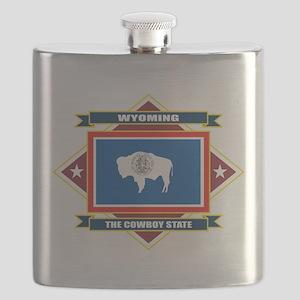 Wyoming diamond Flask