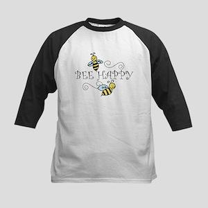 Bee Happy Kids Baseball Jersey