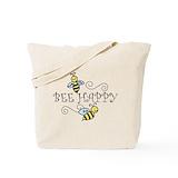 Bee Canvas Tote Bag