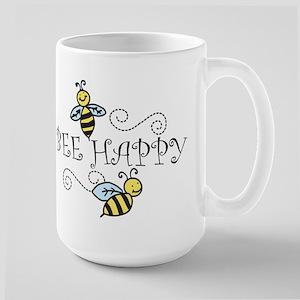 Bee Happy Large Mug