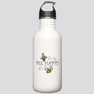 Bee Happy Stainless Water Bottle 1.0L