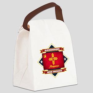 Albuquerque diamond Canvas Lunch Bag