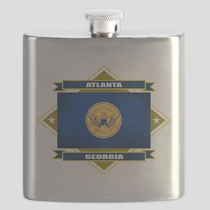 Atlanta diamond Flask