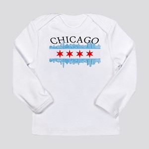 Chicago Skyline Long Sleeve Infant T-Shirt