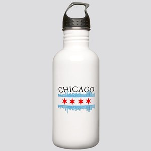 Chicago Skyline Stainless Water Bottle 1.0L