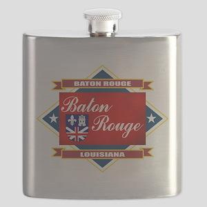 Baton Rouge diamond Flask