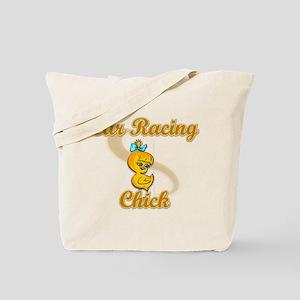 Car Racing Chick #2 Tote Bag