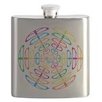 Peace Symbols Flask