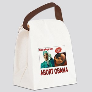DOCTOR BARACK Canvas Lunch Bag