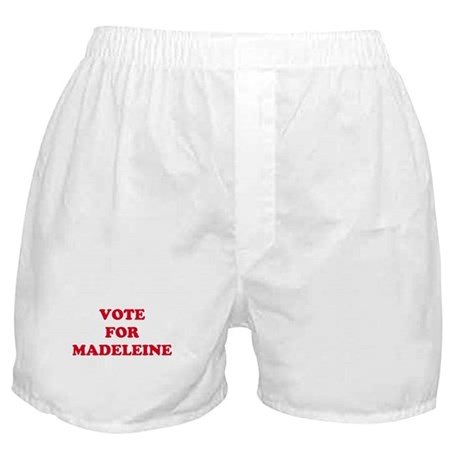 VOTE FOR MADELEINE Boxer Shorts