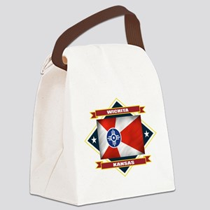 Wichita diamond Canvas Lunch Bag