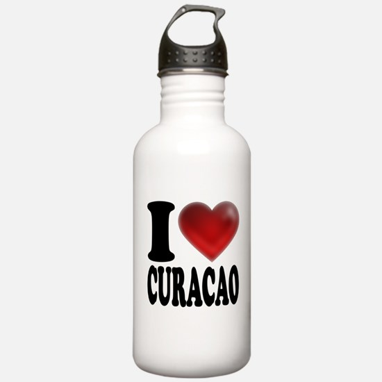 I Heart Curacao Water Bottle