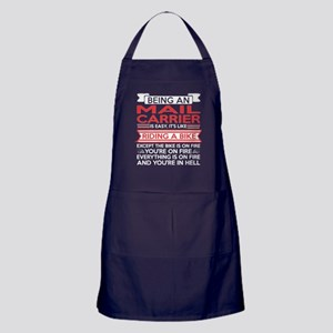 Being Mail Carrier Easy Riding Bike E Apron (dark)
