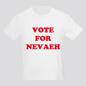 VOTE FOR NEVAEH Kids T-Shirt