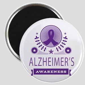 Alzheimer's Disease Vintage Magnet