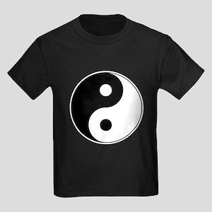 Yin-Yang Kids Dark T-Shirt