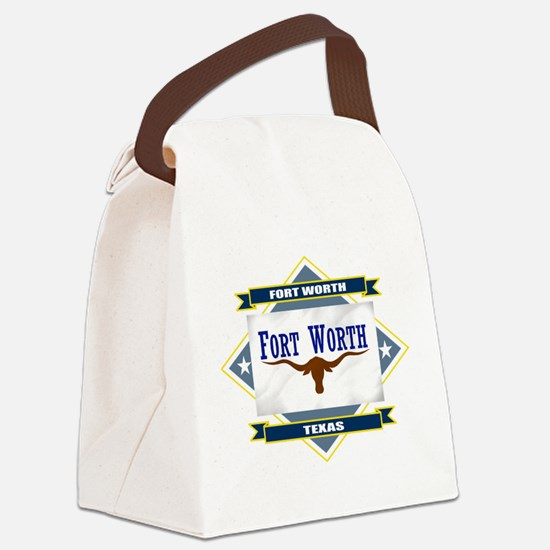 Fort Worth diamond.png Canvas Lunch Bag