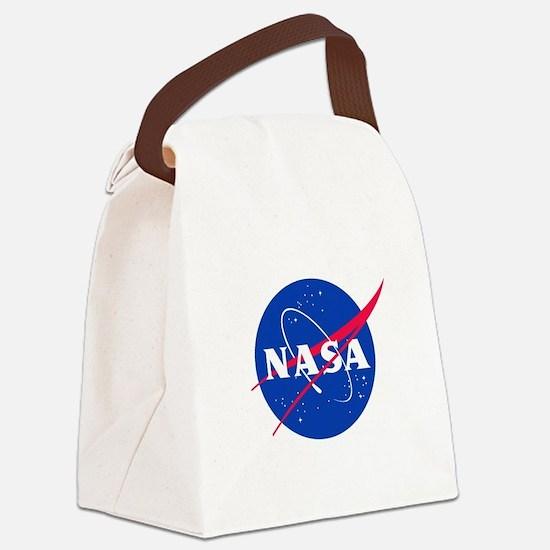 NASA Canvas Lunch Bag