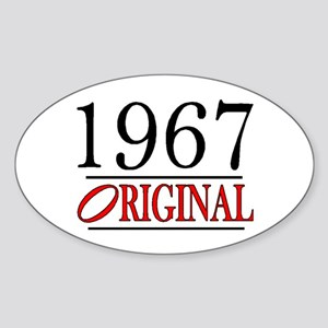 1967 Oval Sticker