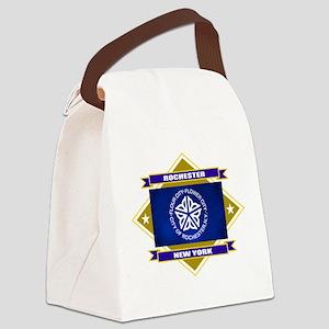 Rochester diamond Canvas Lunch Bag