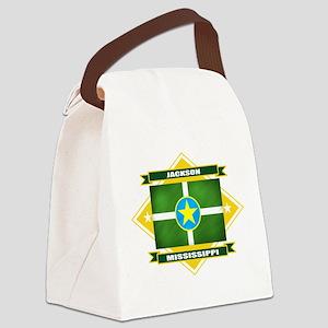 Jackson diamond Canvas Lunch Bag