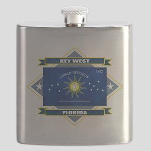 Key West diamond Flask