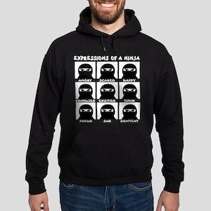Expressions of a Ninja Hoodie (dark)