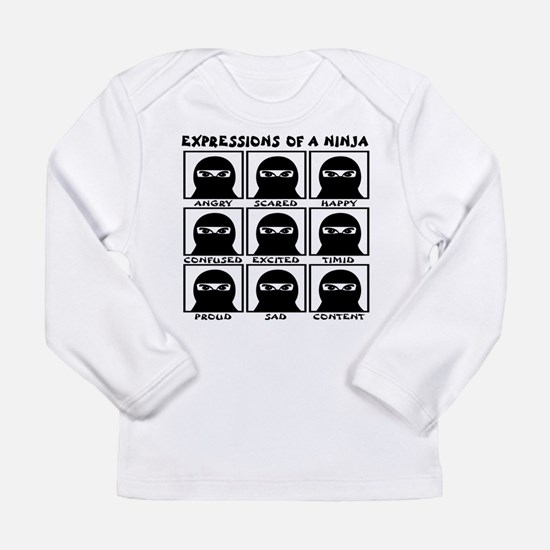 Expressions of a Ninja Long Sleeve Infant T-Shirt