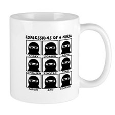 Expressions of a Ninja Mug