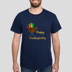 Hand Turkey - Dark T-Shirt