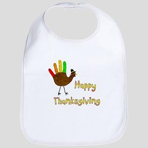 Hand Turkey - Bib