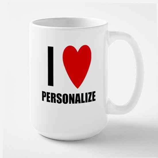I Love... Large Mug
