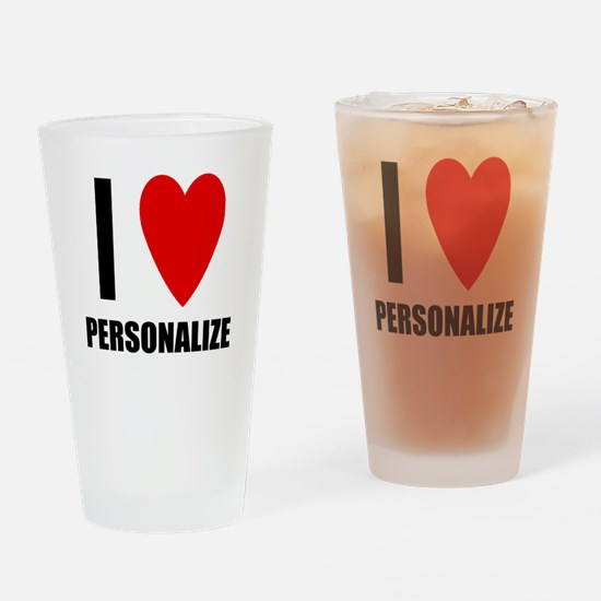 I Love... Drinking Glass
