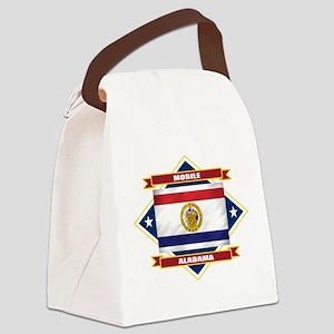 Mobile diamond Canvas Lunch Bag