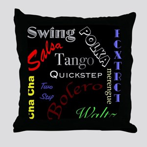 Dancer's Throw Pillow