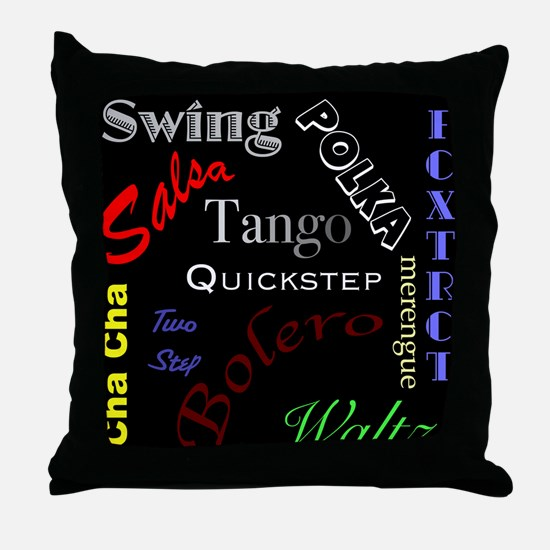 Dancer's Throw Pillow