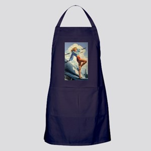 The PinUp Girl. Apron (dark)