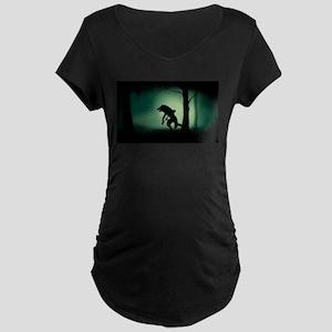Midnight Stalk Maternity Dark T-Shirt