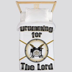 Drumming for the Lord Twin Duvet